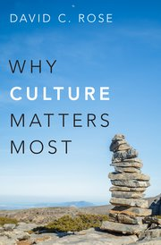 Cover for   Why Culture Matters Most