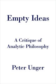 Cover for   Empty Ideas