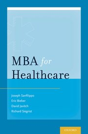 Cover for   MBA for Healthcare