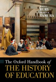 Cover for   The Oxford Handbook of the History of Education