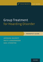 Cover for   Group Treatment for Hoarding Disorder