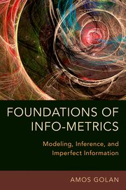 Cover for   Foundations of Info-Metrics