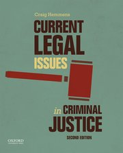 Cover for   Current Legal Issues in Criminal Justice