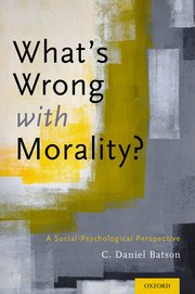 Cover for   Whats Wrong With Morality?