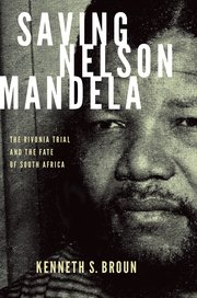 Cover for   Saving Nelson Mandela