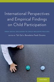 Cover for<br /><br /> International Perspectives and Empirical Findings on Child Participation<br /><br />