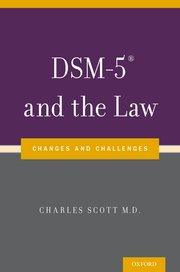 Cover for   DSM-5® and the Law