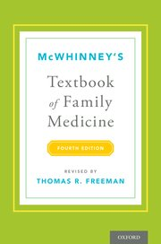 Cover for   McWhinneys Textbook of Family Medicine