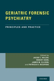 Cover for   GERIATRIC FORENSIC PSYCHIATRY