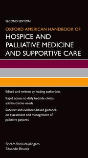Cover for   Oxford American Handbook of Hospice and Palliative Medicine and Supportive Care