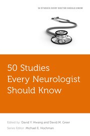Cover for   50 Studies Every Neurologist Should Know