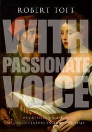 Cover for   With Passionate Voice