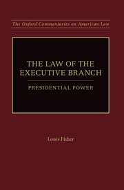 Cover for   The Law of the Executive Branch