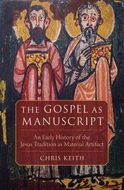 Cover for   The Gospel as Manuscript