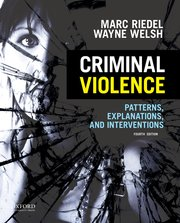 Cover for   Criminal Violence