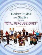 Cover for   Modern Etudes and Studies for the Total Percussionist