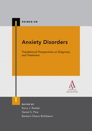 Cover for   Anxiety Disorders