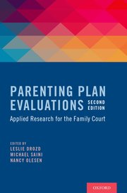 Cover for   Parenting Plan Evaluations
