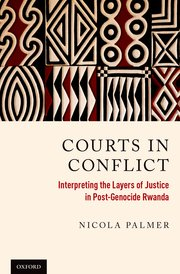 Cover for   Courts in Conflict