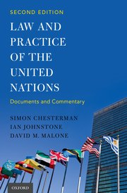Cover for   Law and Practice of the United Nations