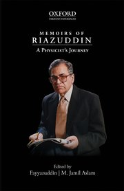 Cover for   Memoirs of Riazuddin: A Physicists Journey