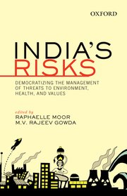 Cover for   Indias Risks