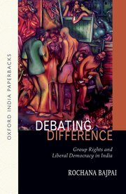 Cover for   Debating Difference