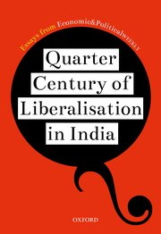 Cover for   Quarter Century of Liberalization in India