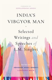 Cover for   Indias Vibgyor Man