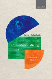 Cover for   Constitutionalizing India