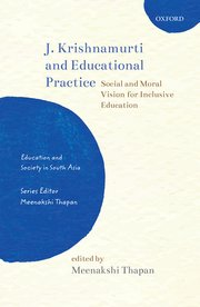 Cover for   J. Krishnamurti and Educational Practice