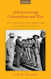 Cover for   Administering Colonialism and War