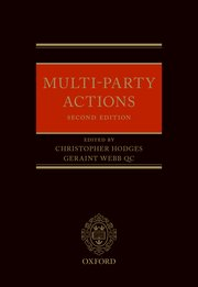Cover for   Multi-Party Actions