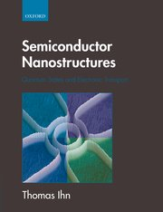Cover for   Semiconductor Nanostructures
