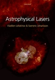 Cover for   Astrophysical Lasers