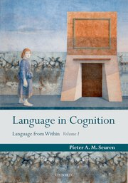 Cover for   Language in Cognition