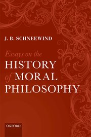schneewind essays on the history of moral philosophy Get this from a library essays on the history of moral philosophy [j b schneewind.