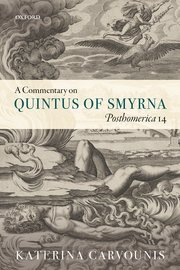 Cover for   A Commentary on Quintus of Smyrna, Posthomerica 14