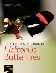Cover for   The Ecology and Evolution of Heliconius Butterflies