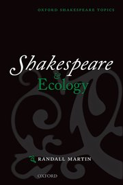 Cover for   Shakespeare and Ecology