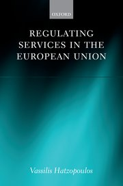 Cover for   Regulating Services in the European Union