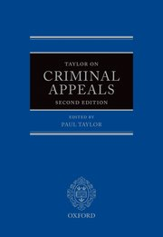 Cover for   Taylor on Criminal Appeals