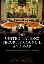 Cover for   The United Nations Security Council and War