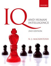 Cover for   IQ and Human Intelligence