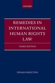 Cover for   Remedies in International Human Rights Law