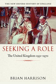 Cover for   Seeking a Role