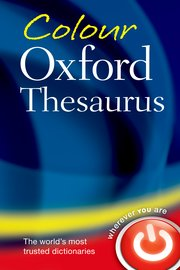 Cover for   Colour Oxford Thesaurus