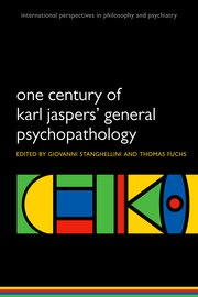 Cover for   One Century of Karl Jasper General Psychopathology