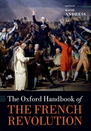 Cover for   The Oxford Handbook of the French Revolution