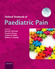 Cover for   Oxford Textbook of Paediatric Pain